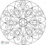 zářijová mandala