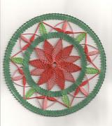 paličkovaná mandala