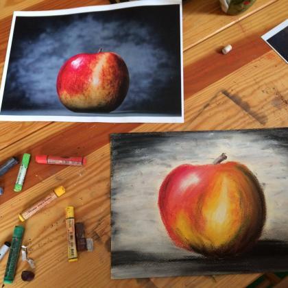 jablko dle předlohy