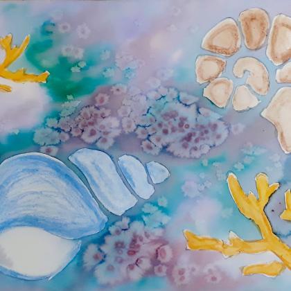 akvarel sablony