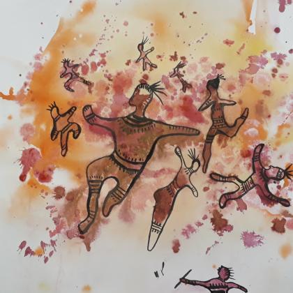 smejvák - malování do skvrn