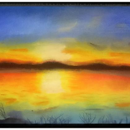 oblíbený východ slunce