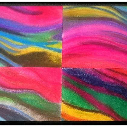 trénink míchání barev