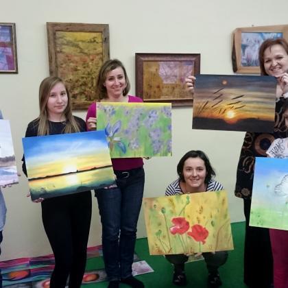 malují s námi i děti