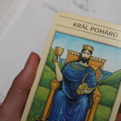 Tarot - Král pohárů