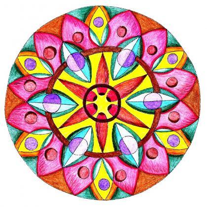 Mandala Květina