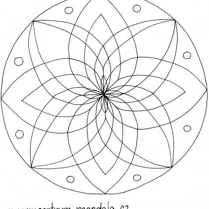 mandalová předloha - základní