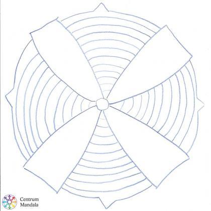 mandala větrník