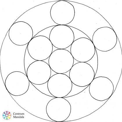 mandala posvátné geometrie
