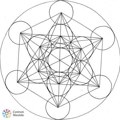 mandala dle posvátné geometrie