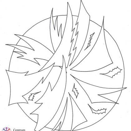 mandala fragmentace