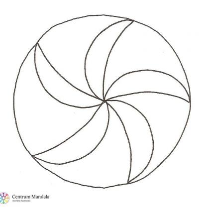 mandalový symbol - identita