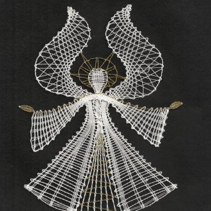 paličkovaný anděl