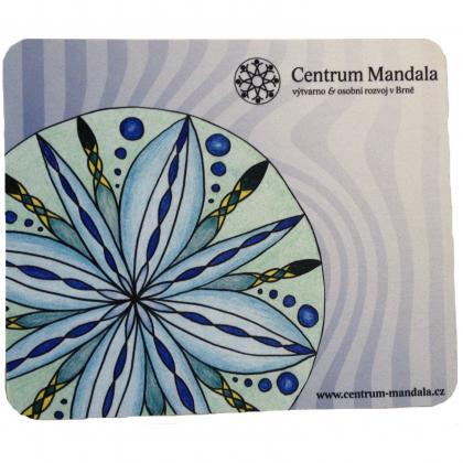 Mandala Mouse Pad Blue