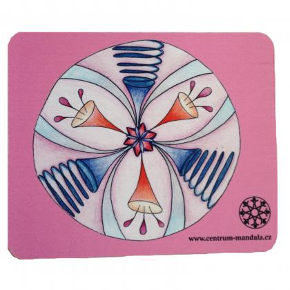 Mandala Mouse Pad Pink