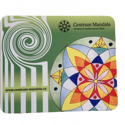 Mandala Mouse Pad Green