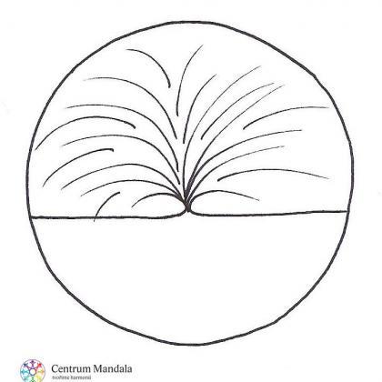 prosincový mandalový symbol