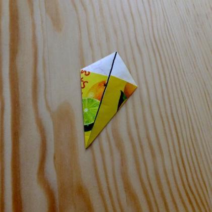 druhý sklad B – tea bag folding návod
