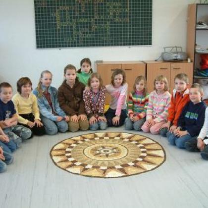 mandalové tvoření ve školách