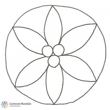 mandalový symbol pro září