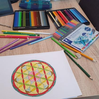 tvoření dle posvátné geometrie