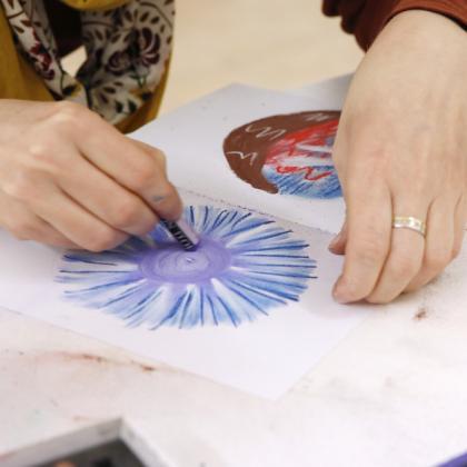 Malování mandal