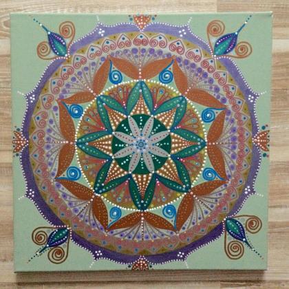 Mandala akryl