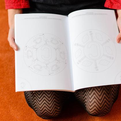 písmenkové mandaly