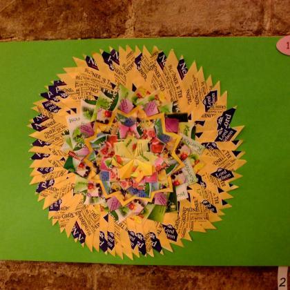 Mandala z projektu Mandala dětem