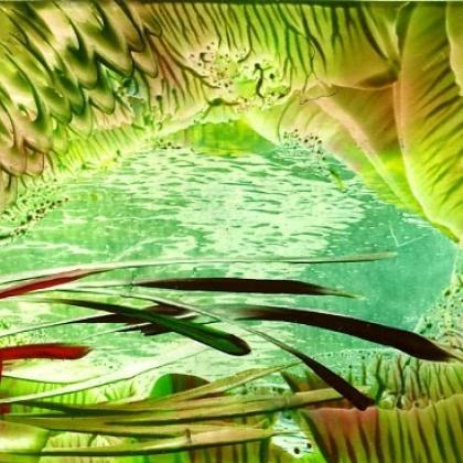 enkaustický obrázek
