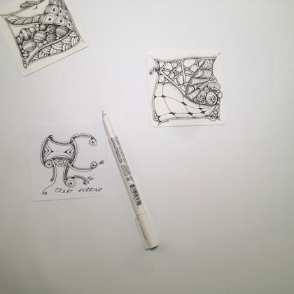 zentanglové vzory