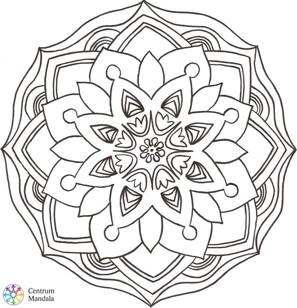 Downloadable Mandalas   Centrum Mandala