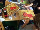 kurz kreslení suchým pastelem