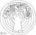 mandala strom